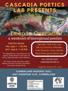 Cascadia Poetics Lab 2018